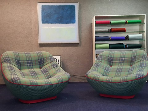 Rare_Pierre_Paulin_Bonnie_500_Lounge_Chairs_1